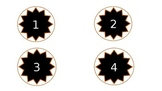 Table numbers/Hook numbers/ Number labels