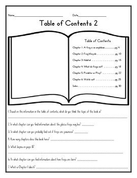 Table of Contents 2 (English)