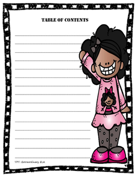 Table of Contents FREEBIE