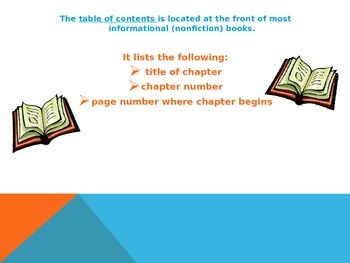 Table of Contents PPT