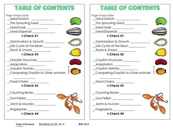 Table of Contents - Structures of Life, 3rd. Ed.