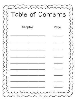 Contents Page Template from ecdn.teacherspayteachers.com