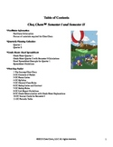 Table of Contents - The Journey Chez Chem