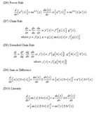 Table of Derivatives and Integrals with Selected Special F
