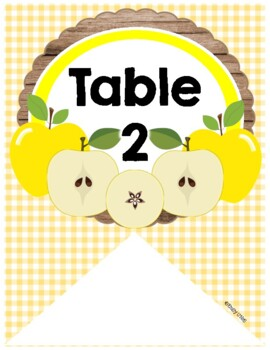 Table or Group Labels (Apple Theme)