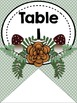Table or Group Labels (Woodland Theme)