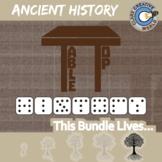 TableTop -- ANCIENT HISTORY CURRICULUM BUNDLE -- 6+ Social Studies Games