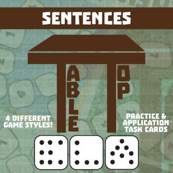 TableTop ELA -- Sentences -- Game-Based Group Practice