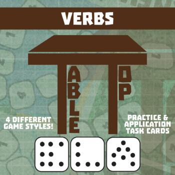 TableTop ELA -- Verbs -- Game-Based Group Practice