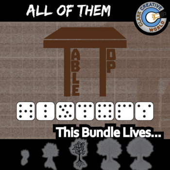 TableTop History -- ALL OF THEM -- 27+ Social Studies Games