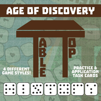 TableTop History -- Age of Discovery -- Game-Based Small Group Practice