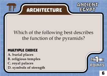 TableTop History -- Ancient Egypt -- Game-Based Small Group Practice
