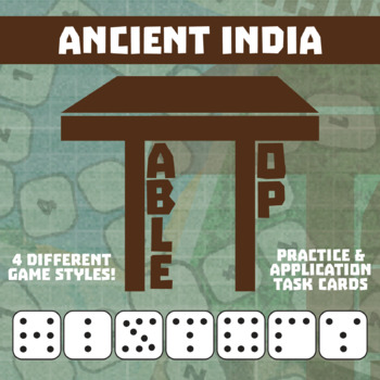 TableTop History -- Ancient India -- Game-Based Small Group Practice