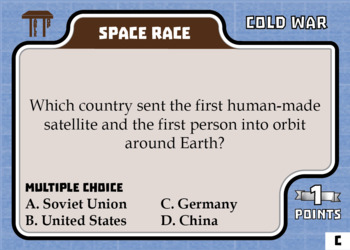 TableTop History -- Cold War -- Game-Based Group Practice