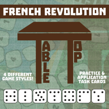 TableTop History -- French Revolution -- Game-Based Small Group Practice