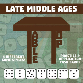 TableTop History -- Late Middle Ages -- Game-Based Small Group Practice