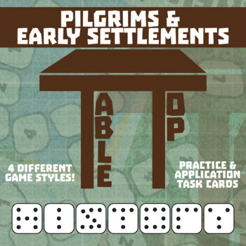 TableTop History -- Pilgrims & Early Settlements -- Game-Based Group Practice