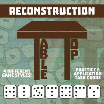 TableTop History -- Reconstruction -- Game-Based Group Practice