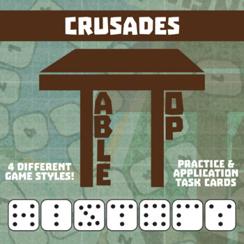TableTop History -- The Crusades -- Game-Based Small Group Practice