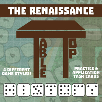 TableTop History -- The Renaissance -- Game-Based Small Group Practice