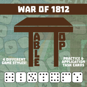 TableTop History -- War of 1812 -- Game-Based Group Practice