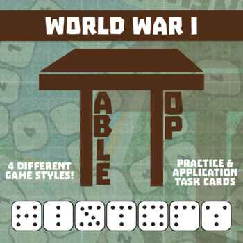 TableTop History -- World War I -- Game-Based Group Practice