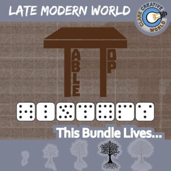 TableTop -- LATE MODERN WORLD HISTORY CURRICULUM BUNDLE -- 4+ Games
