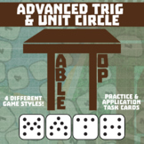 TableTop Math -- Advanced Trigonometry & Unit Circle -- Game-Based Practice