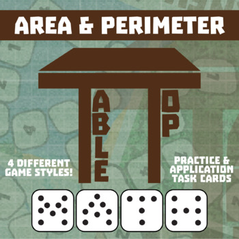 TableTop Math -- Area & Perimeter -- Game-Based Small Grou