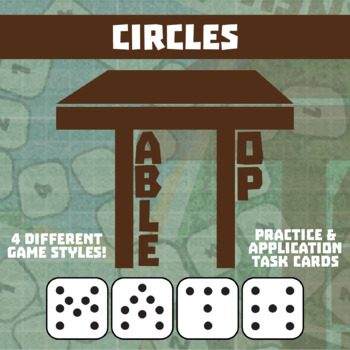 TableTop Math -- Circles -- Game-Based Small Group Practice