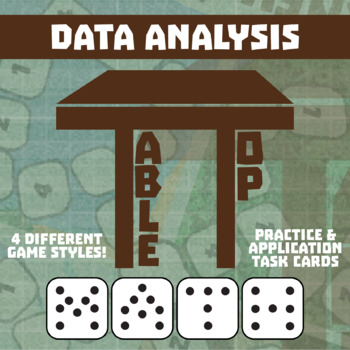 TableTop Math -- Data Analysis -- Game-Based Small Group Practice