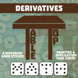 TableTop Math -- Derivatives -- Game-Based Small Group Practice