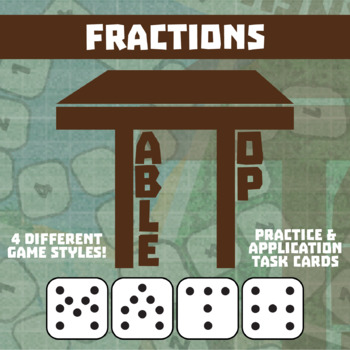 TableTop Math -- Fractions -- Game-Based Small Group Practice