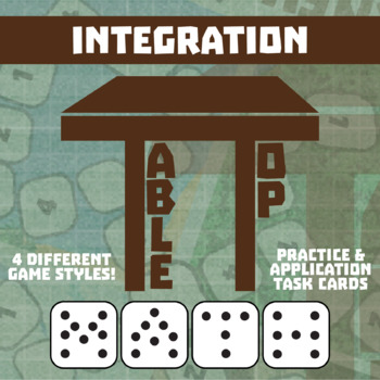 TableTop Math -- Integration -- Game-Based Small Group Practice