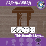 TableTop Math -- PRE-ALGEBRA CURRICULUM BUNDLE -- 10+ Math Games