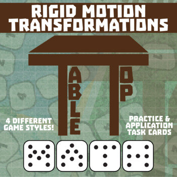 TableTop Math -- Rigid Motion Transformations -- Game-Based Small Group Practice