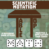 TableTop Math -- Scientific Notation -- Game-Based Small Group Practice