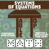 TableTop Math -- Systems of Equations -- Game-Based Small Group Practice