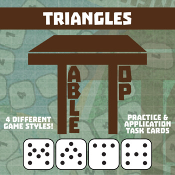 TableTop Math -- Triangles -- Game-Based Small Group Practice