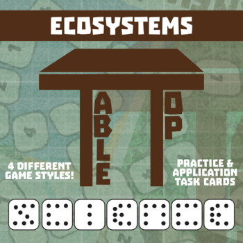TableTop Science -- Ecosystems -- Game-Based Group Practice