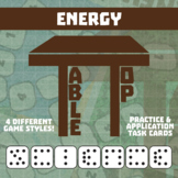 TableTop Science -- Energy -- Game-Based Group Practice