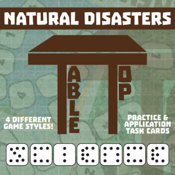 TableTop Science -- Natural Disasters -- Game-Based Group Practice