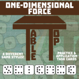 TableTop Science -- One-Dimensional Force -- Game-Based Group Practice