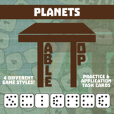 TableTop Science -- Planets -- Game-Based Group Practice