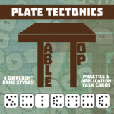 TableTop Science -- Plate Tectonics -- Game-Based Group Practice