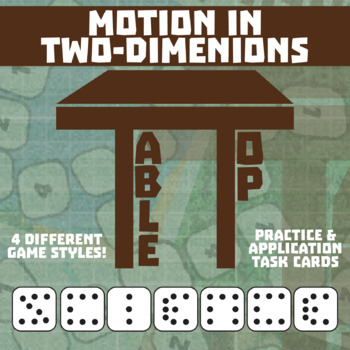 TableTop Science -- Two-Dimensional Force -- Game-Based Group Practice