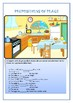 Table_kitchen Vocabulary and Prepositions of place