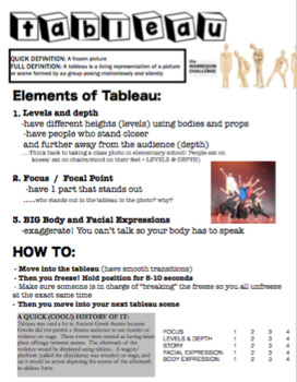 Drama - Intro to Tableau - The Original Mannequin Challenge!
