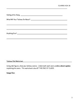 Tableau and Song - Drama, Icebreakers,Fun Group Activity