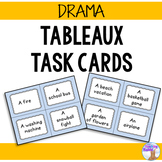 Drama - Tableaux Task Cards